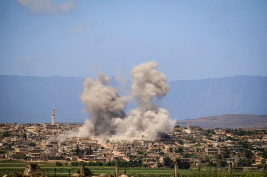 Syrie: des journalistes de Sky News attaqués par les forces du régime