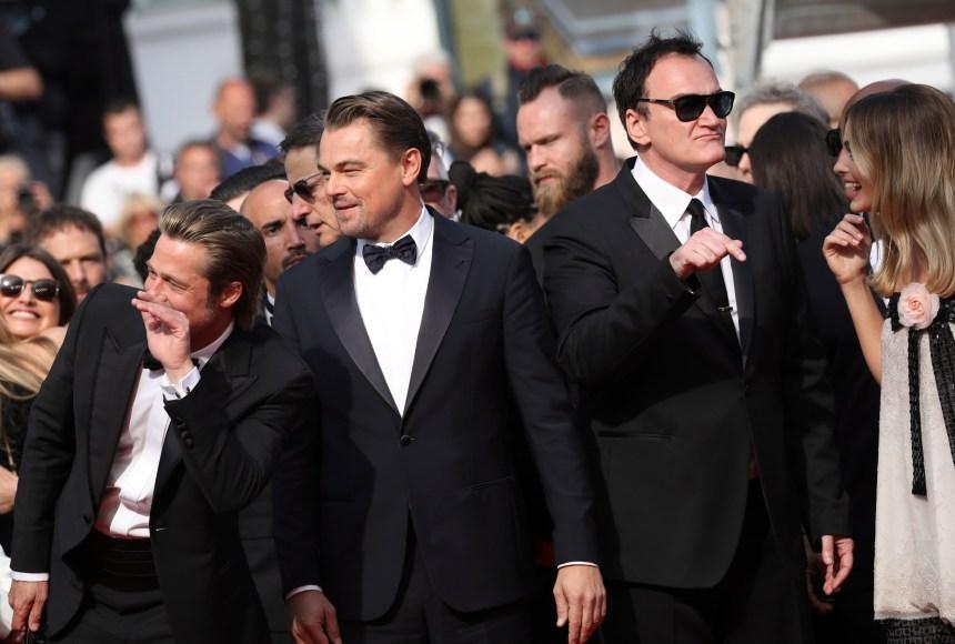 Cannes: Quentin Tarantino, Leonardo DiCaprio, Brad Pitt et Margot Robbie acclamés sur le tapis rouge