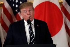 En visite au Japon, Trump renouvelle sa confiance à la Corée du Nord