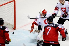 Le Canada bat la Suisse 3-2 en prolongation au Mondial de hockey