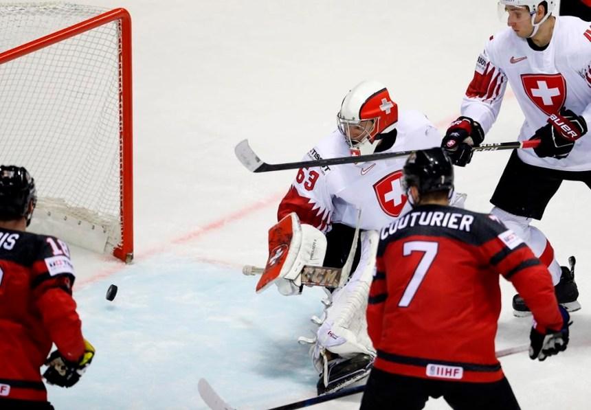 Le Canada bat la Suisse 3-2 en prolongation au Mondial de hockey