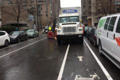 «Blitz de surveillance» contre les immobilisations de véhicules dans les bandes cyclables