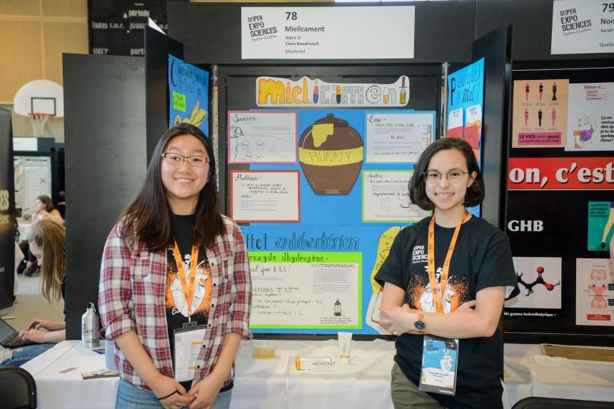 Bourse à saveur de miel pour deux étudiantes du Collège Saint-Louis, à Lachine