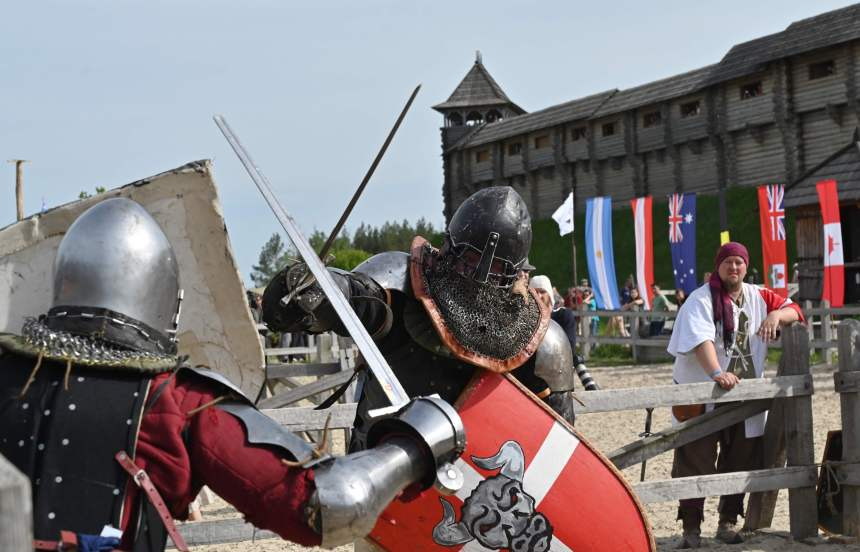 L'Ukraine hôtesse du championnat du monde de combat médiéval