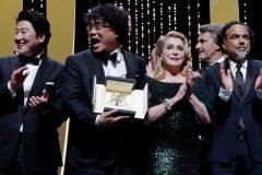 «Parasite» du Sud-Coréen Bong Joon-ho remporte la Palme d'or à Cannes