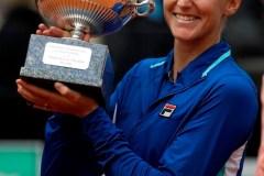 Karolina Pliskova bat Johanna Konta en deux manches en finale à Rome