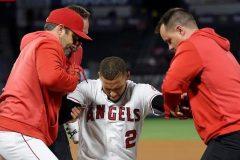 Angels: l'arrêt-court Andrelton Simmons sur la liste des blessés de 10 jours