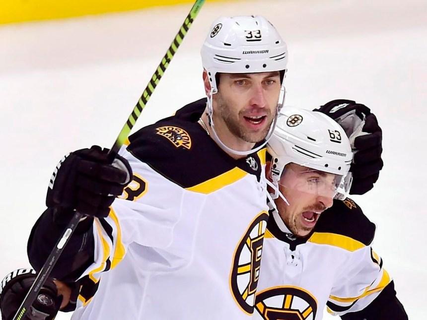 Ligue nationale: Zdeno Chara patine avant l'entraînement des Bruins