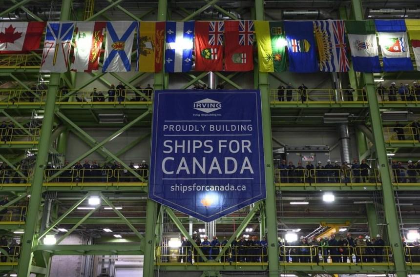 Des contrats de 15,7 G $ pour les chantiers maritimes de Halifax et de Vancouver