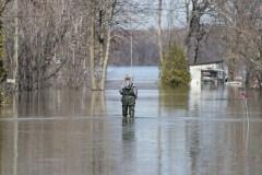 Inondations: des images révèlent à quel point l'Outaouais et le Québec ont été touchés