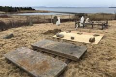 Des ossements dérobés d'une tombe à Terre-Neuve-et-Labrador