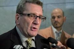 Le maire de Québec, Régis Labeaume, fait un retour au travail progressif