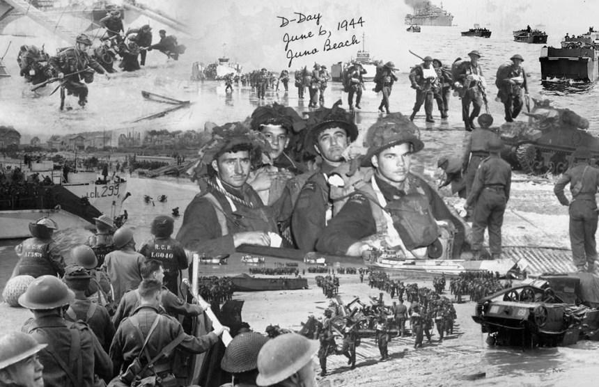 Des Canadiens recevront une carte postale d'un soldat mort à «Juno Beach»