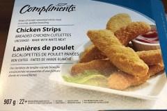 Rappel de lanières de poulet «Compliments» contaminées à la salmonelle
