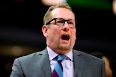 L'entraîneur des Raptors Nick Nurse dirigerait l'équipe canadienne