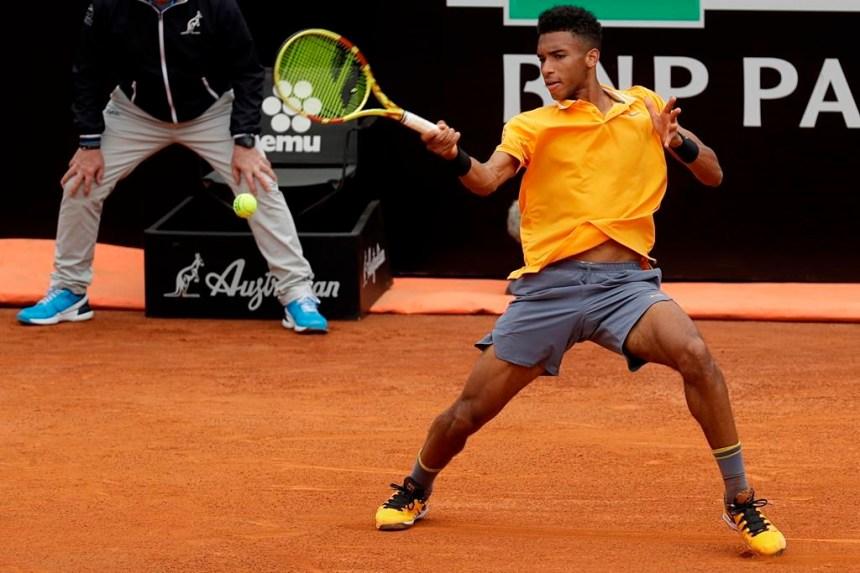 Félix Auger-Aliassime accède à la finale au tournoi de Lyon