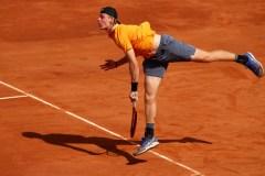 Denis Shapovalov subit l'élimination au tournoi de tennis de Lyon