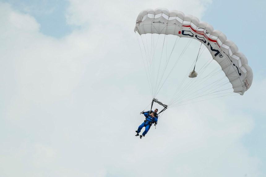 Le parachutisme de compétence fédérale:la Ville de Lévis ne peut pas l'interdire