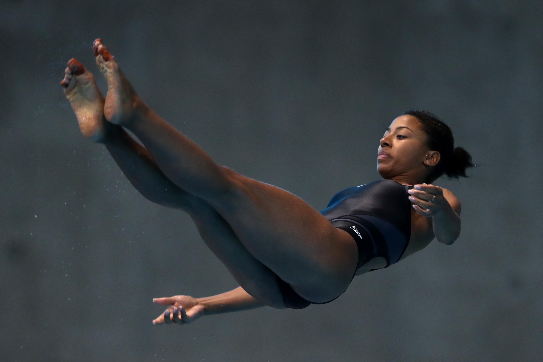 Jennifer Abel obtient l'argent au trois mètres individuel à Londres
