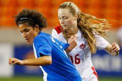 Gabrielle Carle est la seule Québécoise retenue par le Canada pour le Mondial