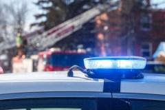 Un chalet détruit par les flammes sur L'Île-Dorval