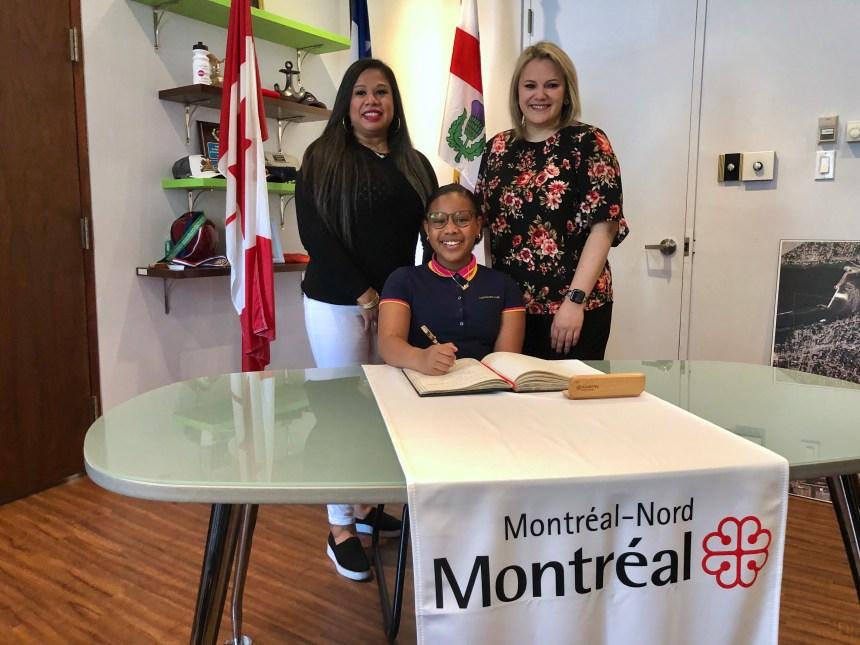 Montréal-Nord nomme sa jeune « mairesse d'un jour »