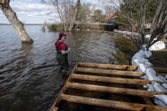 Les provinces touchées par les inondations ont demandé près de 138 M$ à Ottawa