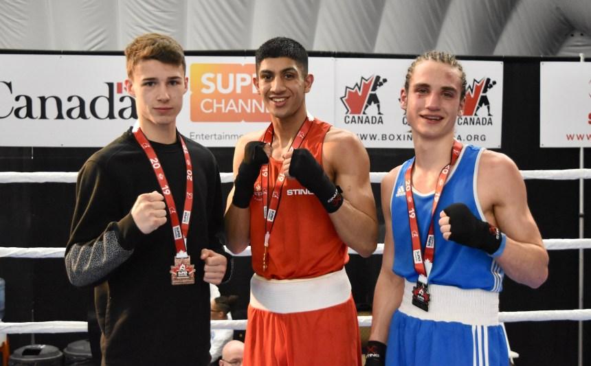 Le Pointelier Jordan Mathieu médaillé aux championnats nationaux de boxe olympique