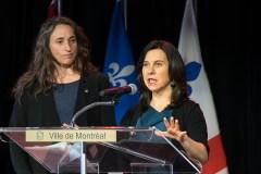 Pour réussir son «virage vert», la CAQ doit investir en mobilité, dit Valérie Plante