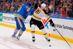 Bruins et Blues: la robustesse sera à l'honneur, à compter de lundi