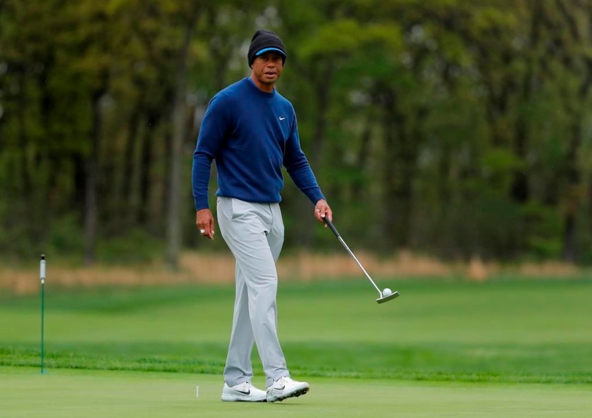 Le coup d'envoi est donné au Championnat de la PGA à Bethpage Black