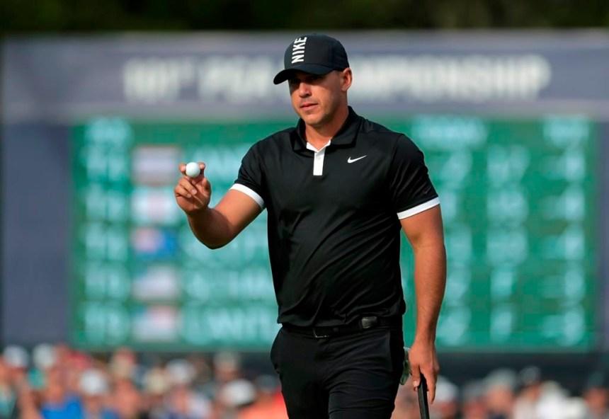 Brooks Koepka mène toujours par sept coups au Championnat de la PGA