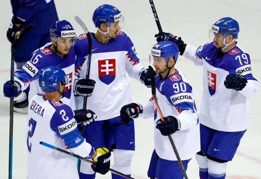 La Slovaquie retrouve le chemin de la victoire au championnat du monde
