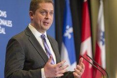 Andrew Scheer s'engage à financer l'Université de l'Ontario français