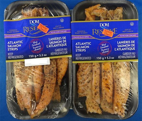 Bactérie Listeria: rappel de lanières de saumon vendues au Québec et en Ontario