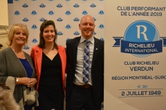Le Club Richelieu de Verdun performe