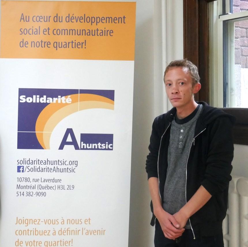 Un nouveau directeur pour Solidarité Ahuntsic
