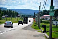 Accident et déverserment: route 169 fermée jeudi au Lac-Saint-Jean