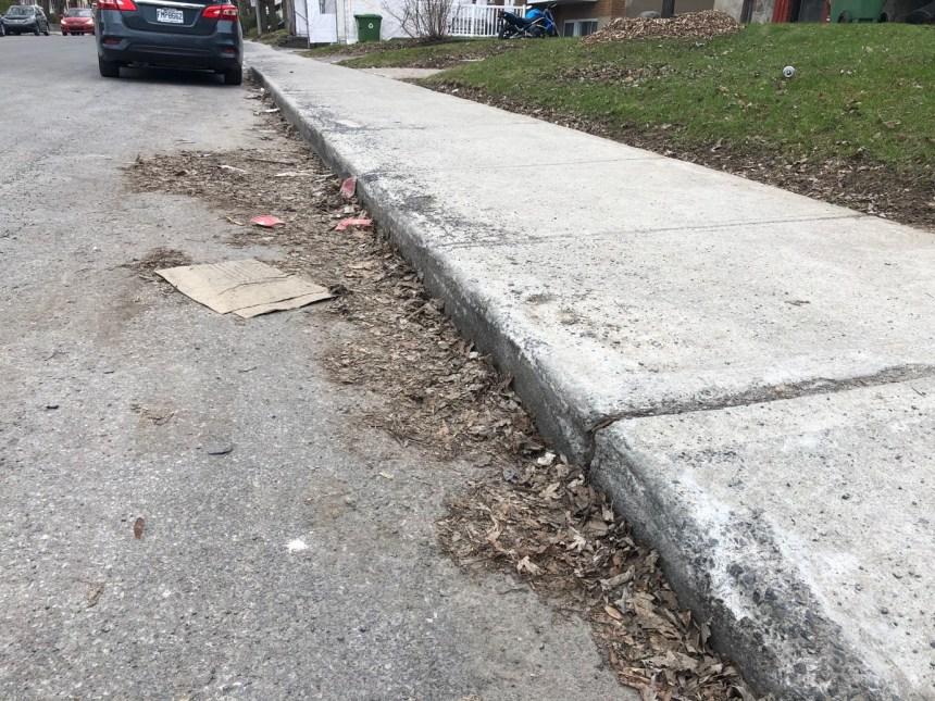 Montréal-Nord: certaines rues tardent à être nettoyées