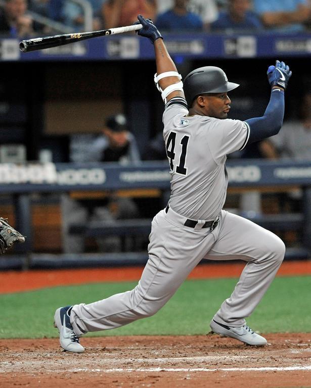 Yankees de New York: Miguel Andujar est de nouveau parmi les blessés