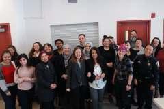 Des stagiaires en Sciences infirmières à la découverte de Saint-Léonard