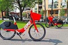 Des centaines de vélos électriques d'Uber bientôt dans les rues de Montréal