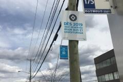 Nouvelle voie réservée sur Côte-Vertu