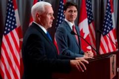 Conversation «cordiale» au sujet du droit à l'avortement entre Trudeau et Pence