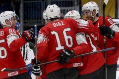 La Suisse se moque de l'Italie 9-0 au Championnat mondial de hockey
