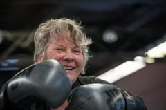 Chantal Rouleau enfile ses gants de boxe pour les jeunes en difficulté