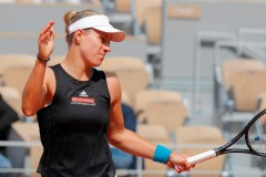Angelique Kerber s'incline au premier tour aux Internationaux de France