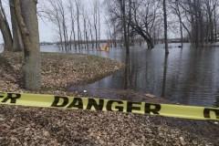 Rivière-des-Prairies :  situation stable mais des parcs toujours inondés