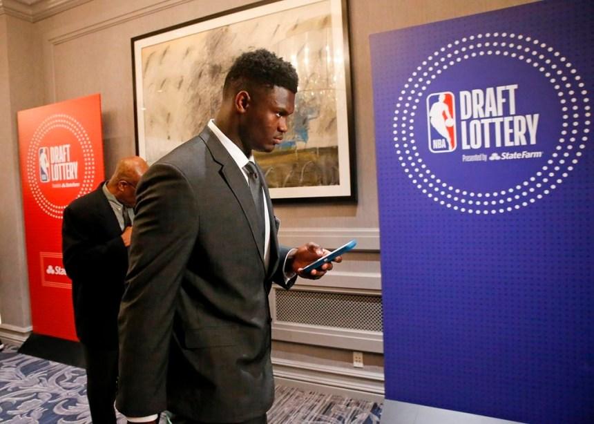 NBA: les Pelicans auront le premier choix lors du repêchage, le 20 juin