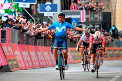 Richard Carapaz prend les commandes du Giro d'Italia